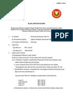 Iklan Jawatan Pemandu Kenderaan Gred h11