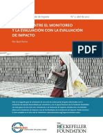 3- Linking Monitoring and Evaluation to Impact Evaluation - Spanish