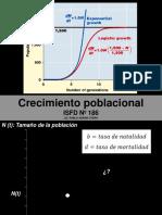 Crecimiento Poblacional (2018) Parte I