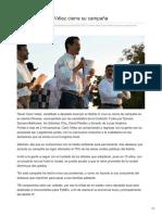 27-06-2018 Ante miles Cano Vélez cierra su campaña