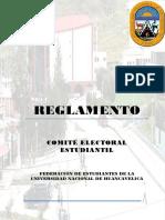 Reglamento Comite Electoral 2017