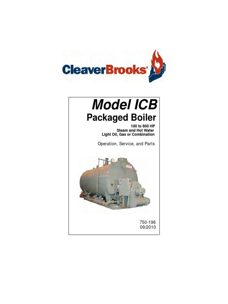 Icb Operating And Maintenance Guide Caldera Cleaver Brooks Only After Td 2 Times Out Does The Normallyclosed Timedclosed Boiler Water Heating