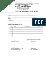 Form Pendaftaran Sp
