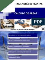 Ingeniería de Plantas 10 - Cálculo de Áreas