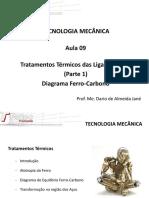 Tecnologia Mecânica -Diagrama Ferro-carbono