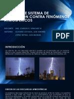 Estudios de Sistema de Protección Contra Fenómenos Atmosféricos