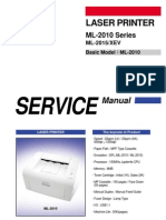 SAMSUNG Laser Printer ML2010 Series