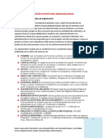 ACTIVIDADES FASE 3 DEFINICIÓN ESTRUCTURA ORGANIZACIONAL