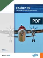 FLYFokker Fokker 50 Leaflet_1