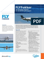 FLYFokker Leaflet