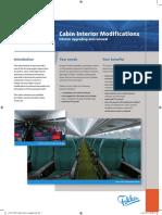 FLYFokker Leaflet Cabin Interior Modifications
