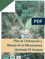 Plan de Manejo de Cuenca Arenoso 1998