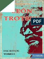 León Trotsky - Escritos 1929-1940  - Tomo I.pdf