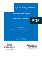 IIA-IsACA 2nd Annual IT Hacking Conference