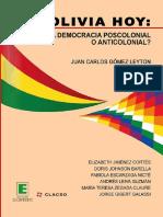 Imaginarios de participación política de mujeres en Bolivia, entre la cooptación y la marginalización.