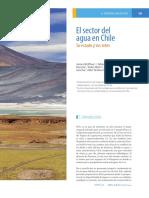 Sector Agua en Chile