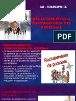 Reclutamiento Convocatoria Personal