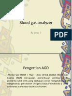 Blood Gas Analyzer PPT