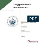 Diseñar El Pavimento Flexible Bajo El Método de UNAM