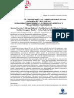 CARACTERÍSTICAS COMPORTAMENTAIS EMPREENDEDORAS DE UMA ORGANIZAÇÃO FILANTRÓPICA