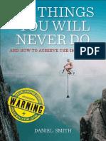 OceanofPDF.com 100 Things You Will Never Do - Daniel Smith