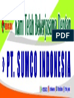 Spanduk Selamat Datang PT SUMCO (1X)