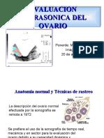 Ultrasonido Del Ovario