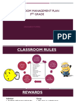 classroom management plan pdf