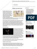 Ballet, Para Un Cuerpo Saludable y Una Mente Clara _