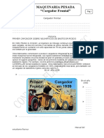 Cargador Frontal SPCC
