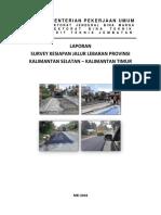 Laporan Survey Jalur Lebaran 2018 Kalimantan Selatan-kalimantan Timur