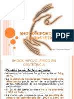 Shock Hipovolémico en obstetricia
