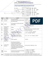 5W Dual Output AC-DC EMC Recommended Circuit