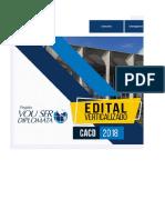 Edital Verticalizado - Diplomata 2018 (CACD)