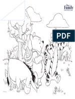 Winnie the Pooh Coloring Pages Printables 0311 FDCOM