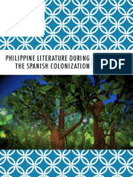 Philippine Literature (Spanish Period)