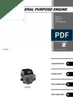 Manual Motor honda gx610