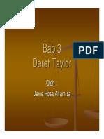 BAHAN UAS _ Perataan_ Deret-taylor
