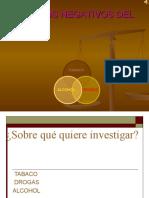 Efectos Negativos Del Tabaco,Las Drogas y El Alcohol.