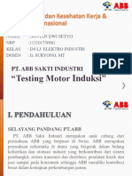 1310175008 Novian Testing Motor