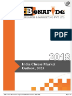 India Cheese (Processed & Unprocessed) Market Overview, 2018-2023