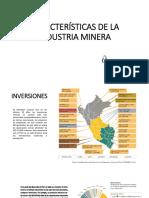 Caracteristicas de La Industria Minera