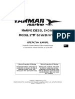 2YM15 Operators Manual