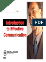 Effective Communication Workbook