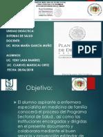 Programa Sectorial de Salud 2013 2018 curso especialidad de enfermería medicina de familia