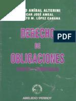 Alterini, Atilio - Ameal, Oscar - López, Roberto - Derecho De Obligaciones