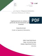 SAPIÑA - Implementación en Arduino de Un Protocolo de Sincronización Mediante Consenso