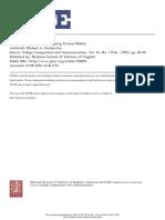 Pemberton 1993 Modeling Theory and Composing Process Models