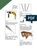 Herramientas de Carpinteria Con Definicion y Las Imagnes Estan Otro Lado