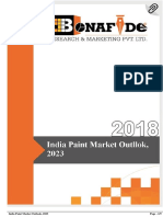 India Paint Market Outlook, 2023